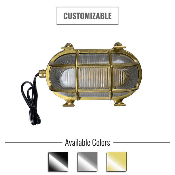 Customizable Ceduna Bulkhead - Indoor/Outdoor