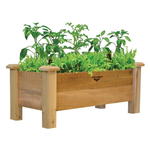 Rustic Planter Box 18x34x19