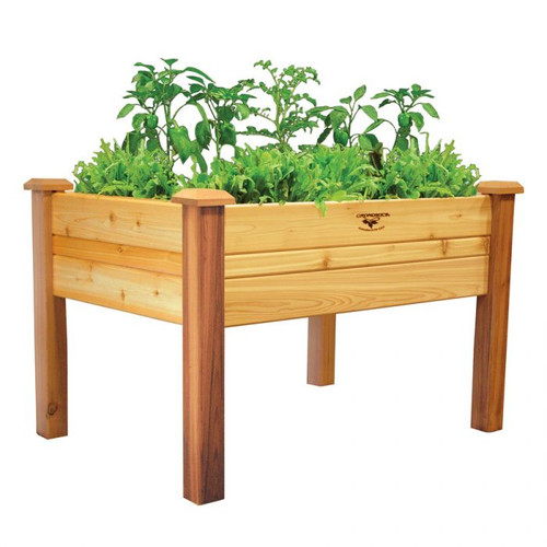 birdies web product planter elevated large garden heritage products