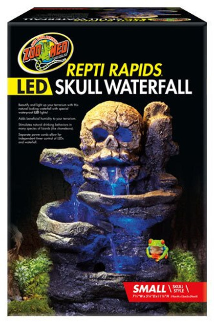 Led Skull Waterfalls The Tye Dyed Iguana Amp Indoor