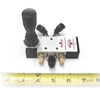 Side photo of 4198285 Joystick Air Valve for Coats Tire Changers.