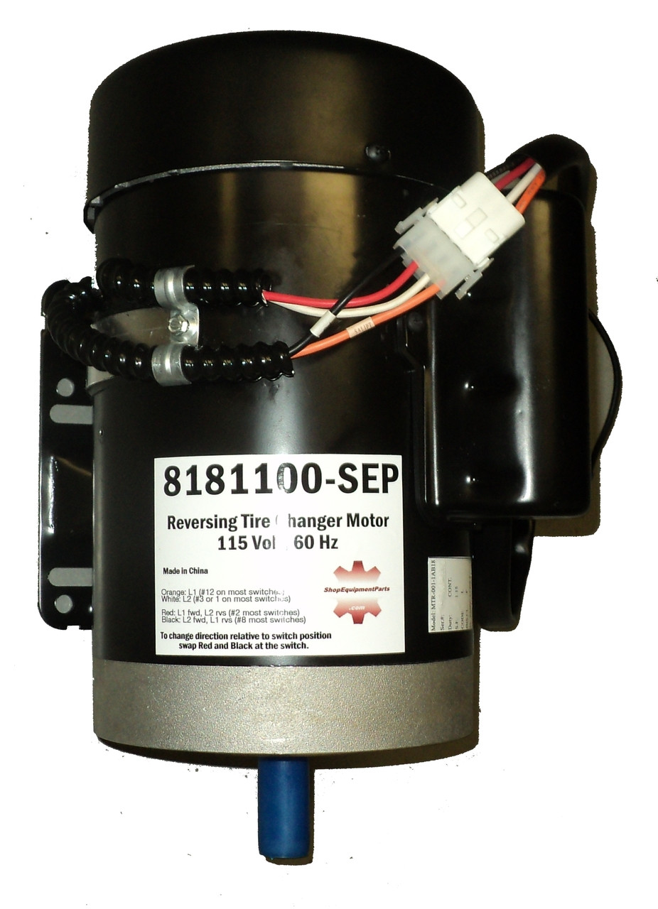 Tire Changer Parts  8181100 Electric Motor