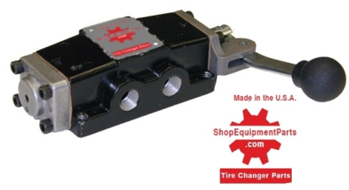 Photo of ShopEquipmentParts brand 8185585 Hand Controlled Air Valve for Coats Tire Changers.