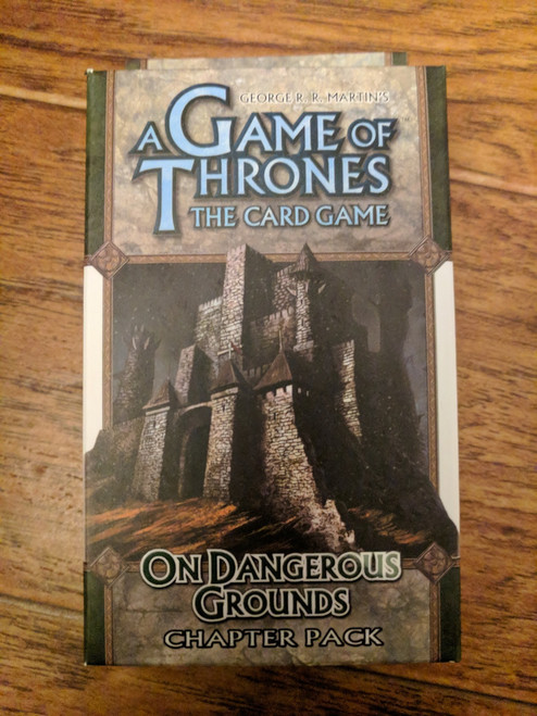 A Game of Thrones LCG: On Dangerous Ground Chapter Pack