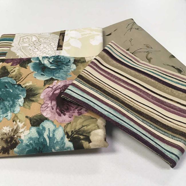 Interlude quilt fabric turquoise