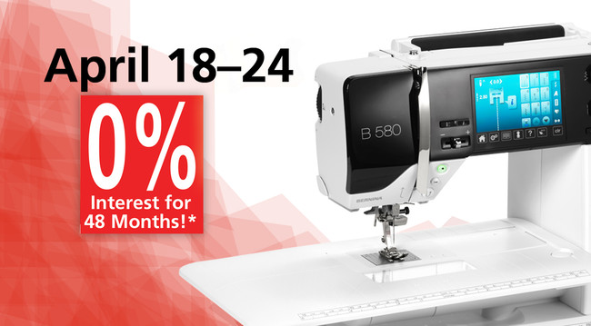 Feeling Taxed? Feel Better with a new Bernina!