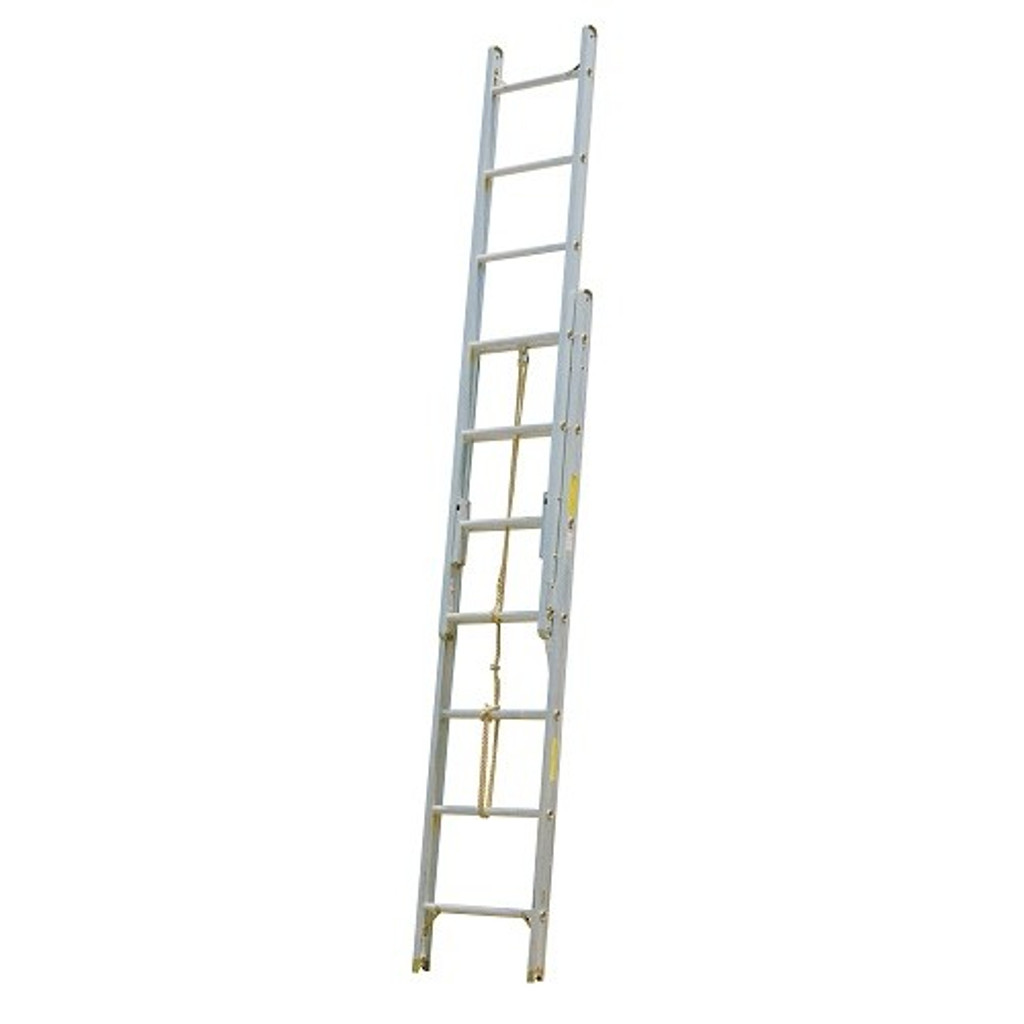 Alco-Lite PEL Series Aluminum 2-Section Extension Ladder - SELECT SIZE BELOW