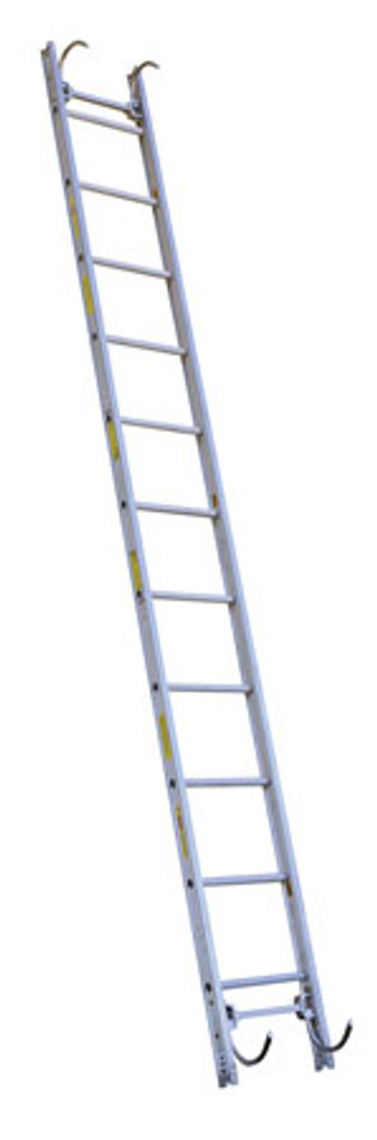 Alco-Lite DRL Series Aluminum Pumper Roof Ladder with Double Ended Roof Hooks -SELECT SIZE BELOW