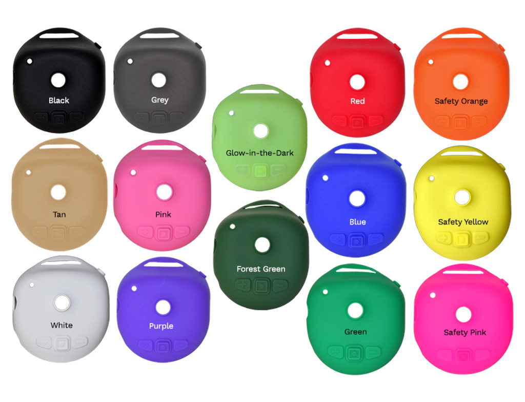 FireCom #114 Silicone Headset Ruggedizers, (14 Colors To Choose From)