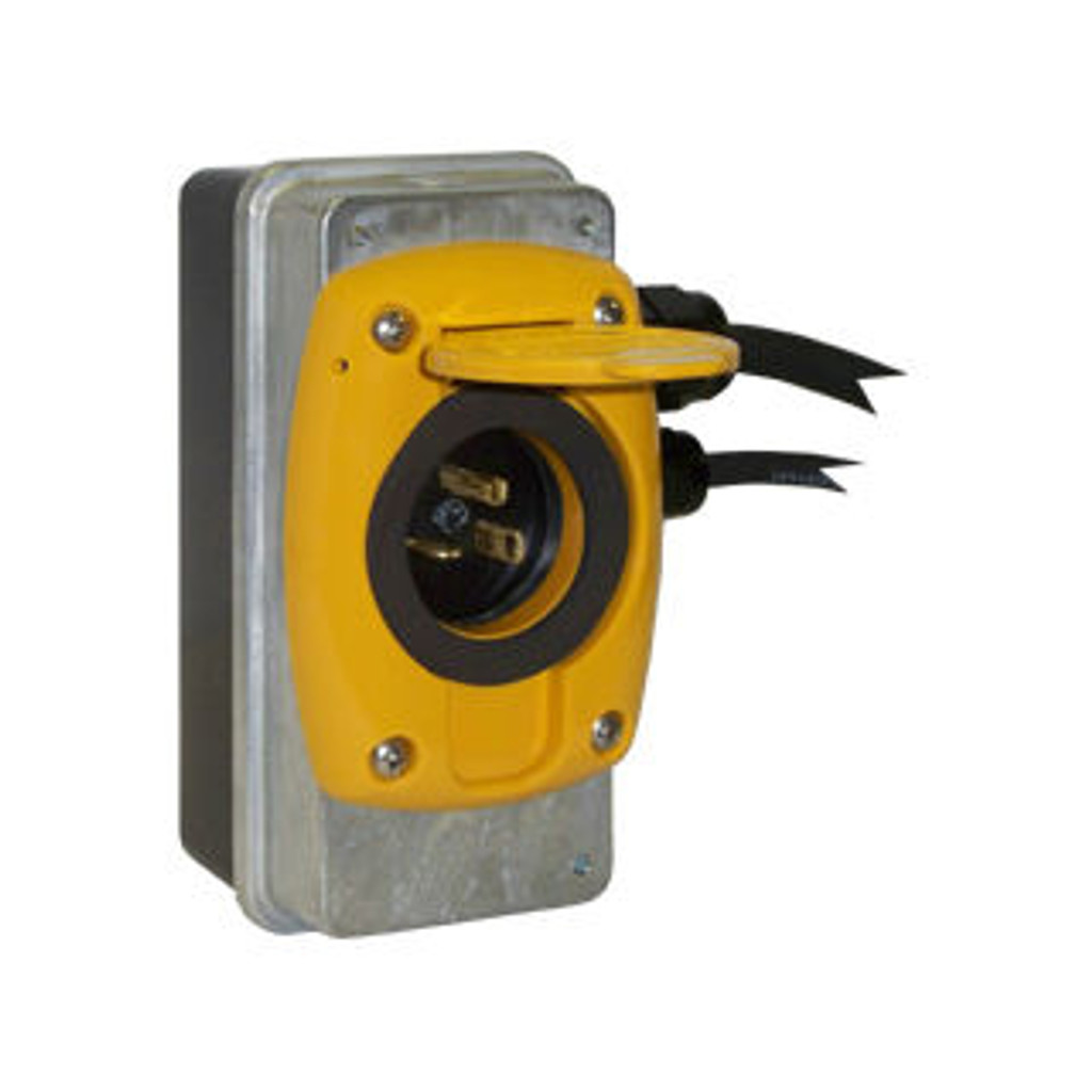 Kussmaul #091-55-20-120-YLW Super Auto Eject 20 Amp - 120V with Yellow Cover