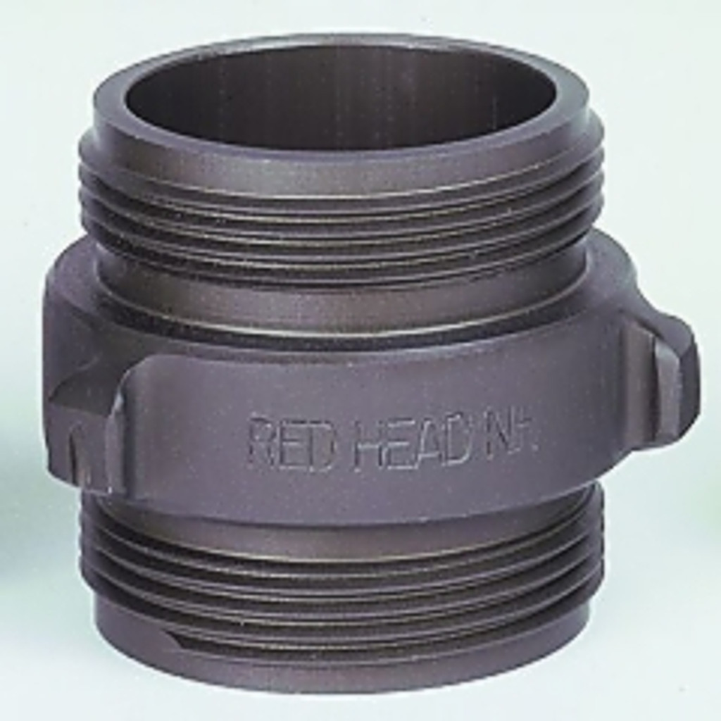 "Red Head 2.5"" x 2.5"" Double Male Rocker Lug Adapter"