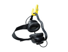 FireCom #108-0678-00 NFPA Compliant Behind Head or Under Helmet Only Hanger Hook - Yellow