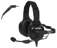 FireCom #UH-51 Under-helmet Wired Headset With full duplex intercome and PTT radio transmit