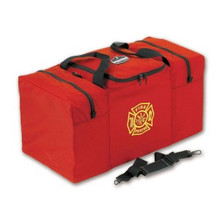 Ergodyne #13060 Step-In Combo Gear Bag with 3 Zippers - Red