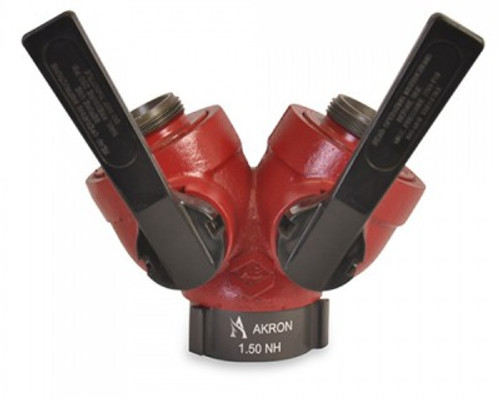 "Akron 1.5"" F X (2) 1.5"" M Gated Wye"