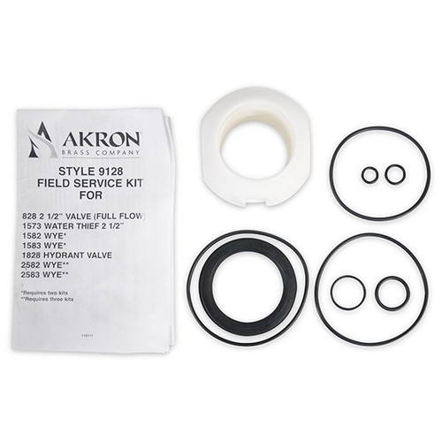 Akron #9128 Field Service Kit for Wye - Hydrant Valve Styles 828, 1573, 1582, 1583, 1828, 2582 and 2583
