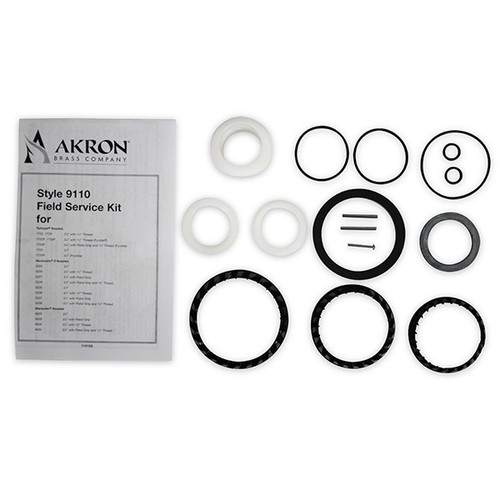 Akron #9110 Field Service Kit for Nozzle Styles 1722, 1723P, 1725, 1729 and 4625