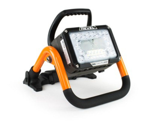 Akron Revel Scout Premium Package 14,000 Lumen LED Scene Light with (2) Batteries and Charger