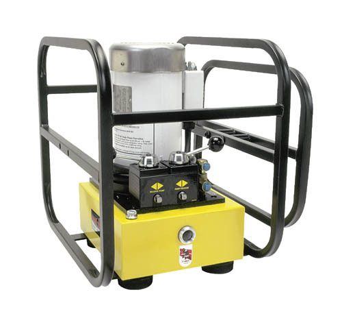 Amkus EF2S-STD 220V 1PH Electric Power Unit with 4-Way Valve & Handle