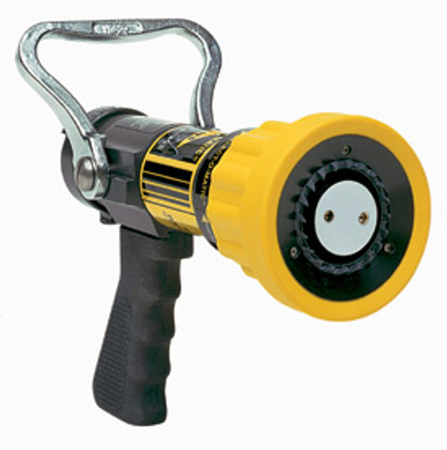 "Elkhart #SM-3FG 1"" Select O Matic Nozzle with Pistol Grip - 10-75 GPM @ 100 PSI"