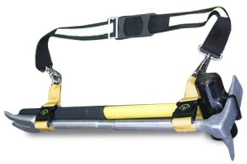 "Fire Hooks Unlimited Pro Bar Maul Set with 30"" Pro Bar, 8 lb. Sledge & ADZ Bracket"
