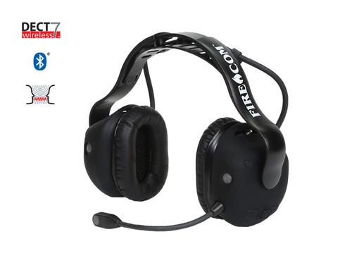 FireCom Radio Transmit Convertible DECT7 Bluetooth Headset