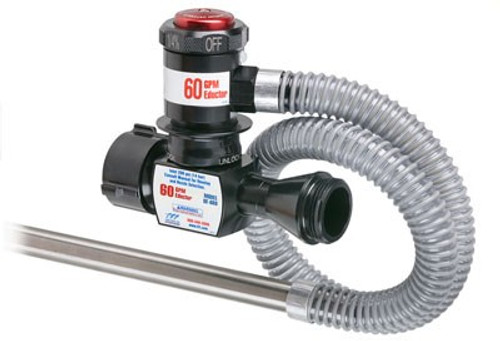 "TFT Legacy 1.5"" x 60 GPM In Line Foam Eductor with 1.5"" Outlet and 36"" Pickup Hose Tube"