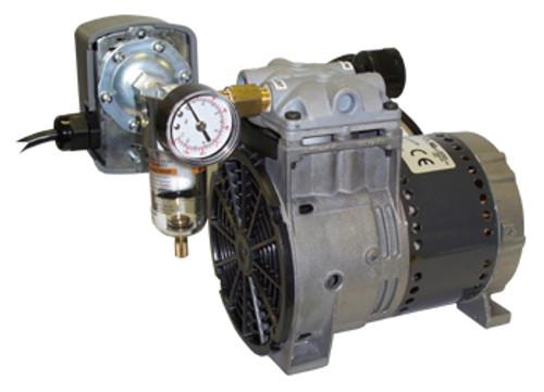 Kussmaul #091-9HP 120V Auto Pump AC HP Air Compressor - Horizontal Mount