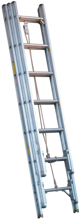 Alco Lite 24 Aluminum 3 Section Extension Ladder