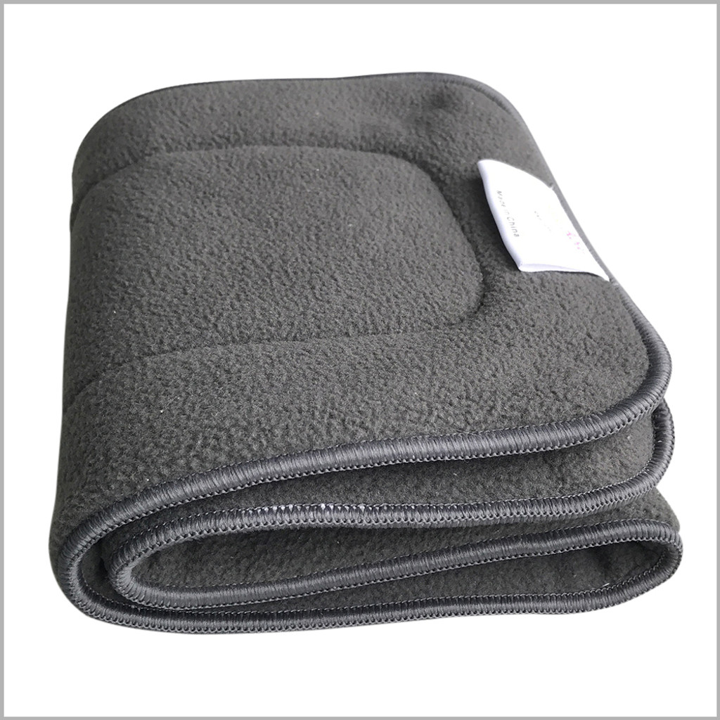 Teen / Adult Charcoal Bamboo Inserts for Cloth Diapers