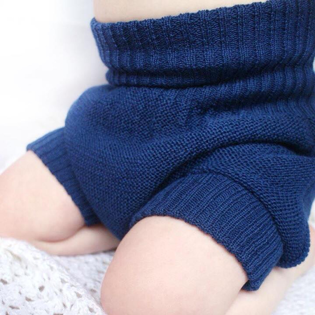 Wool Cover for Cloth Diapers, 100% Merino Wool Double Knit