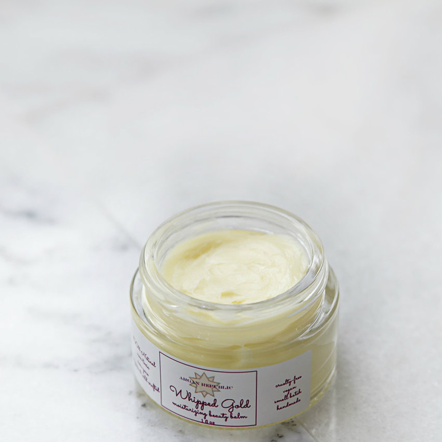 whipped gold beauty balm
