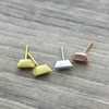 Geometric Bar Earring