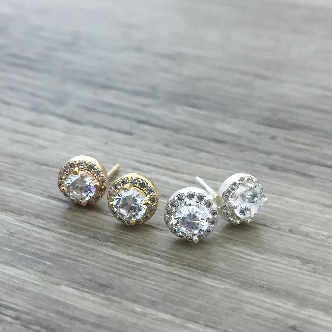 e1ec7a81ef1e Luxe circle stud earring - FAB Accessories Inc.