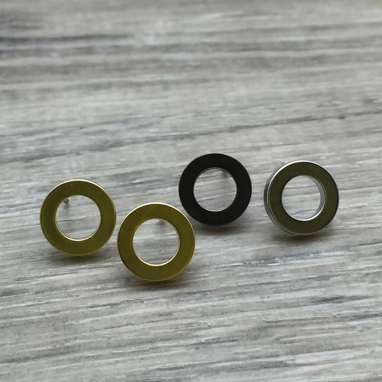 21d7daab0eeb Open circle stud earring - FAB Accessories Inc.