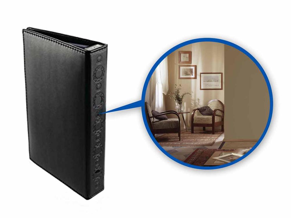 HD Hardcover Book Hidden Camera