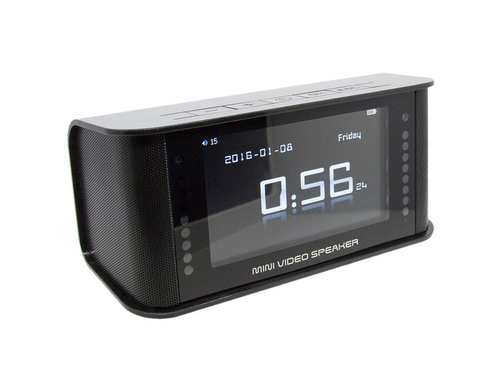 SleekVu 2.0 Hidden Camera Clock