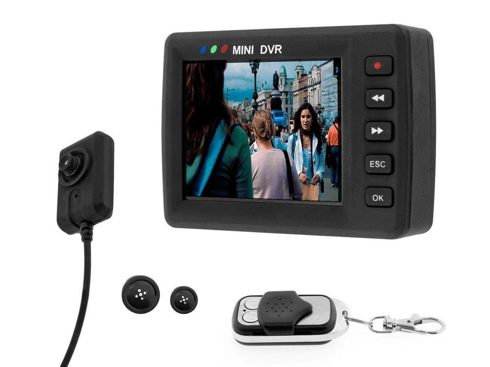 AngelEye Button Mini Cam & DVR