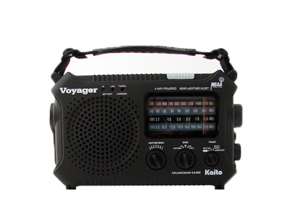 The Voyager - Solar AM/FM Radio