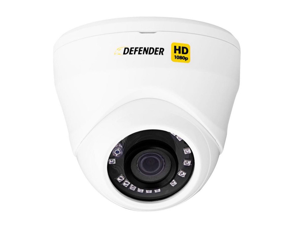 Defender 8 Channel DVR Featuring 8 HD Cameras