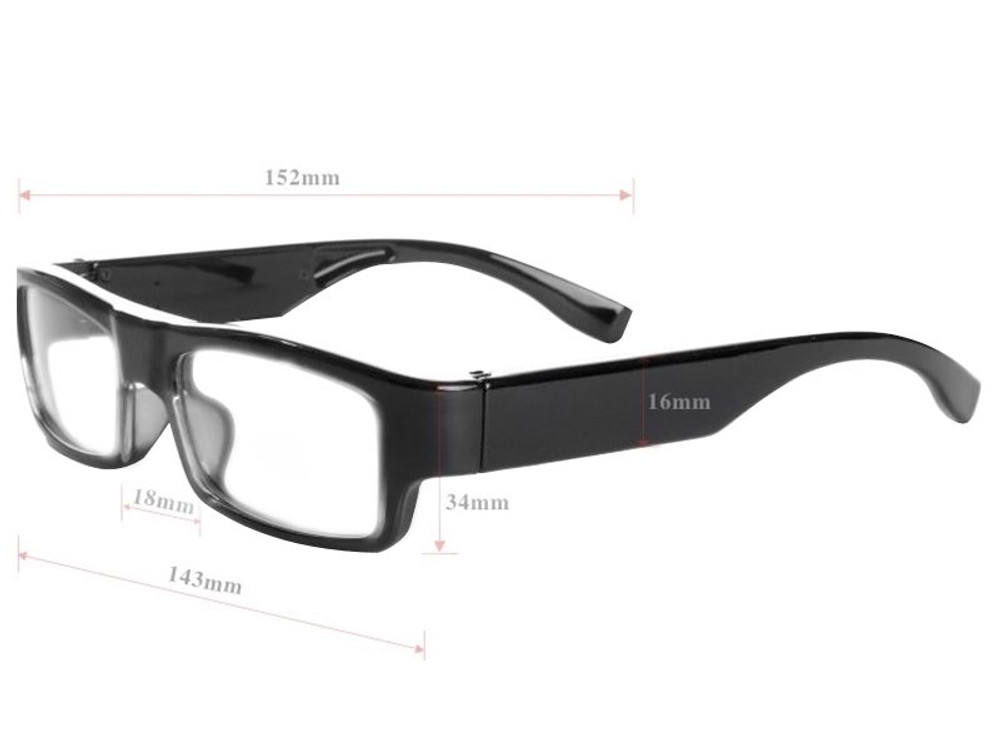 High-End Stylish Glasses DVR Camera