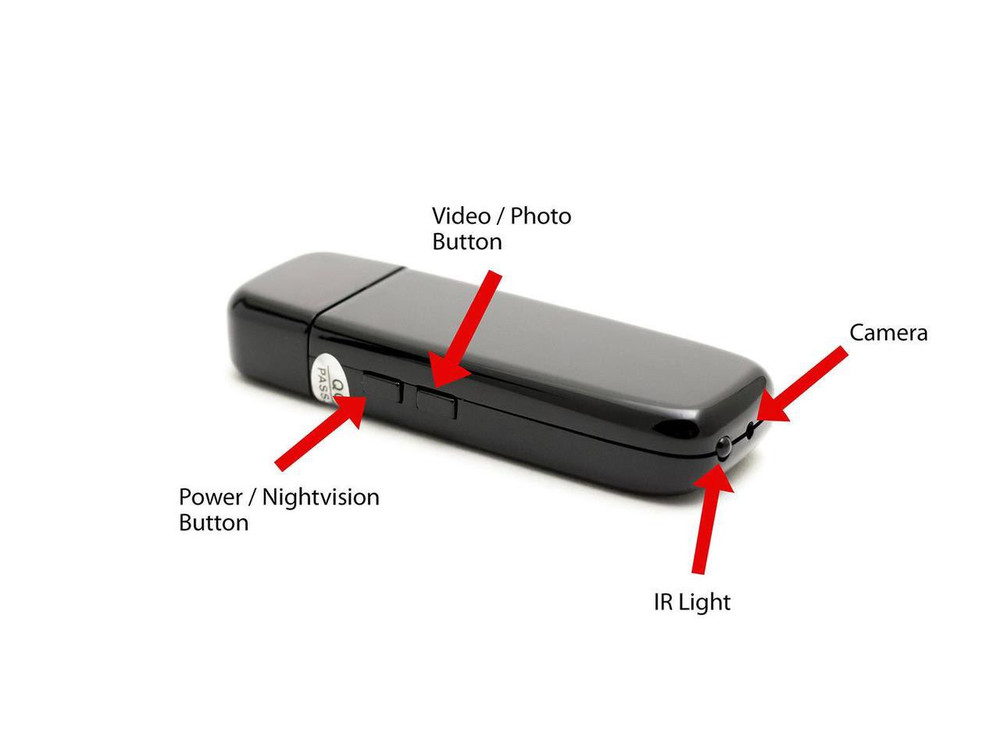 USB Camstick Camera with Night Vision