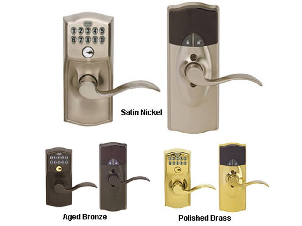 Schlage Z Wave Lever Lock Electronic Locks For A Smart Home