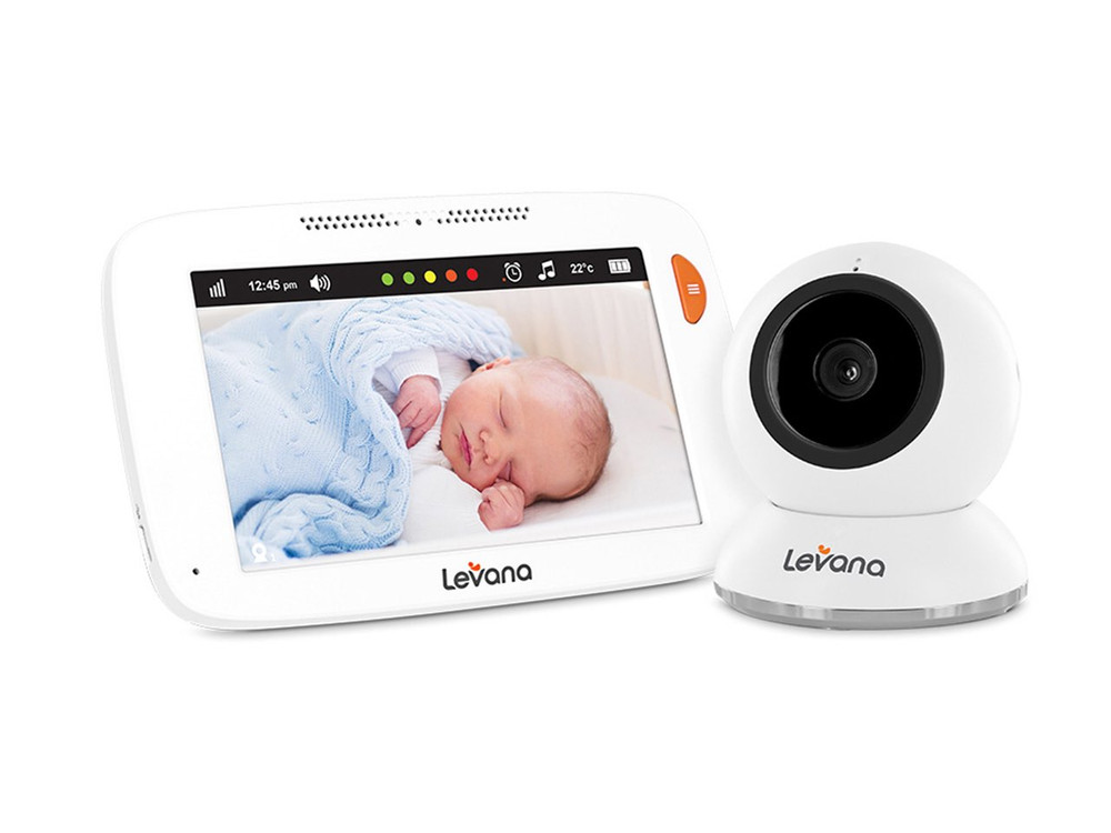 """Shiloh 5"""" Touchscreen Fixed Video Baby Monitor"""