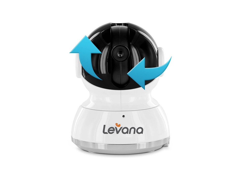 Shiloh & Willow Add-On PTZ Camera for Levana Baby Monitor