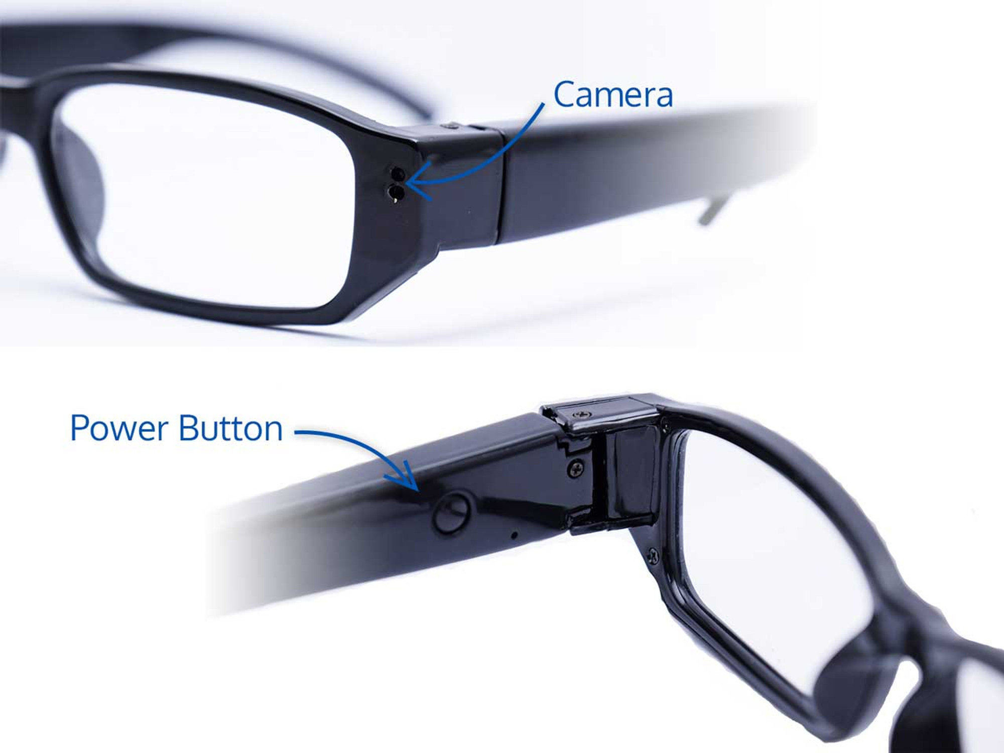 Glasses Hidden Camera 720p HD Body Camera at BrickHouse Security