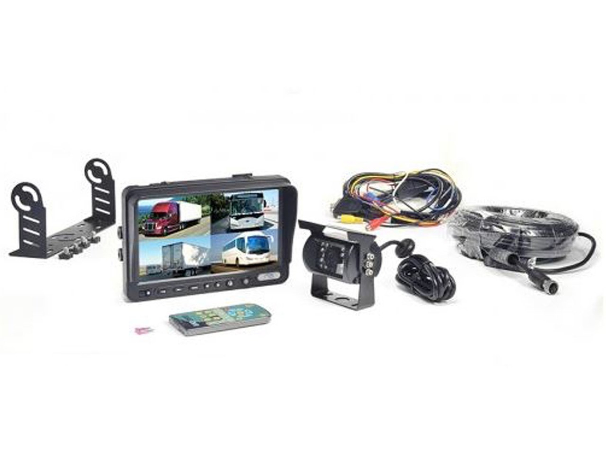 Car Camera System W/ Built-In DVR