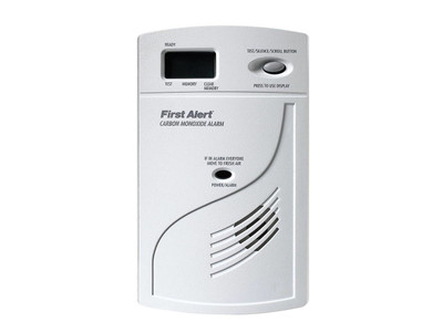 SecureGuard Carbon Monoxide Detector Cam With WiFi Connector