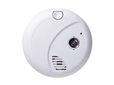 SecureGuard Smoke Detector Hidden Camera with WiFi Connector