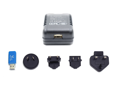 WiFi AC Travel Adapter Hidden Camera